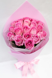 Sweet Thoughts - Pink Roses in Simple Korean Style Bouquet <font color=red> Limited Offer